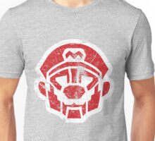 Mariobots... ROLL OUT! (animated version, distressed) Unisex T-Shirt