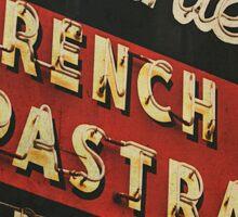 Johnnie's French Dip Vintage/Retro Sign Sticker
