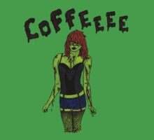 Coffee Zombie by DR8C0