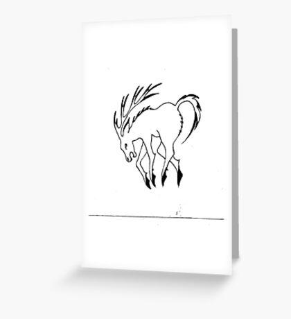 Fantasy animal Greeting Card