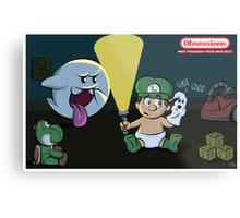 Obessions Series- Luigi Metal Print