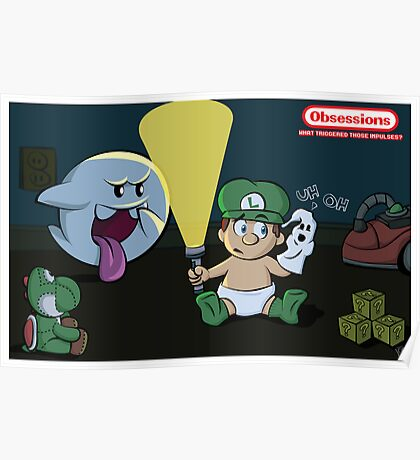 Obessions Series- Luigi Poster