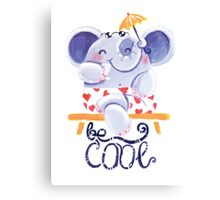 Be Cool! - Rondy is relaxing Canvas Print