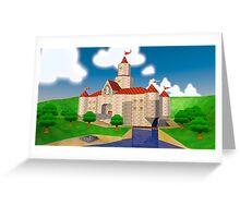 Peach's Castle Greeting Card