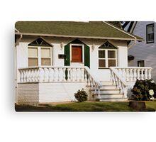 Little House Entrance  Canvas Print