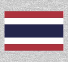 Thailand Flag by cadellin