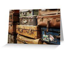 Baggage Greeting Card