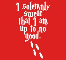 Harry Potter  i solemnly swear that i am up to no good One Piece - Short Sleeve
