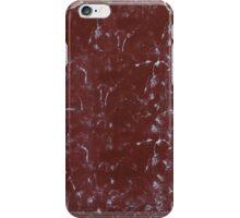 Vintage Worn Notebook Cover iPhone Case/Skin