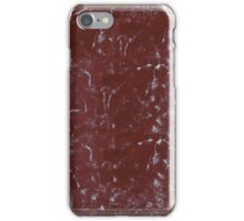 Vintage Worn Notebook Cover iPhone Case/Skin