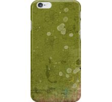 Vintage Daisy Floral Green Wallpaper iPhone Case/Skin