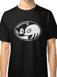 Sonic & Knuckles Monochrome Logo Classic T-Shirt