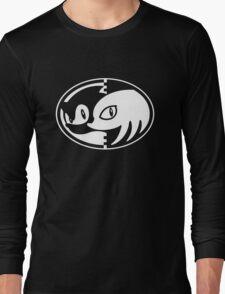 Sonic & Knuckles Monochrome Logo Long Sleeve T-Shirt