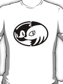 Sonic & Knuckles Monochrome Logo (White shirt) T-Shirt