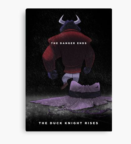 The Duck Knight Rises Canvas Print