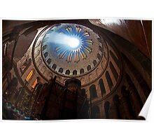 Church of the Holy Sepulcher Jerusalem Old City Poster
