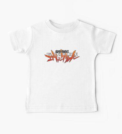 Evangelion Title Logo Baby Tee