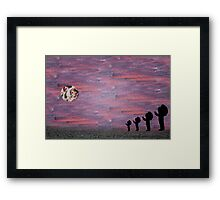 Native Chief  Framed Print