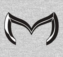 Mazda Custom ''M'' Badge Logo by vincepro76