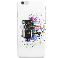 Capturing Colour (White Landscape) iPhone Case/Skin