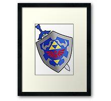 Sword and Sheild Framed Print