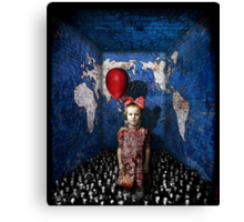 it's a very mad world Canvas Print