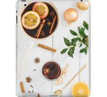 Mulled wine iPad Case/Skin