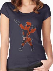Deadpool Got Da Booty Women's Fitted Scoop T-Shirt