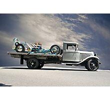 Hot Rod Hauler II 1934 Photographic Print