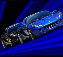2009 Lotus Elise 'Staging Lane' by DaveKoontz