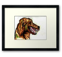 The Hound of the Baskervilles Framed Print