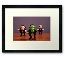 Monsters! Framed Print