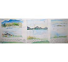 Three views Photographic Print
