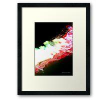 Idea + Light + Time = Art B Framed Print