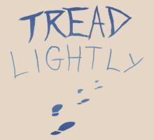 Tread Lightly T Shirt Geek by Fangpunk