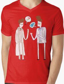Rose n' River Mens V-Neck T-Shirt