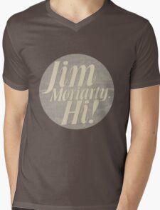 Jim Moriarty says hello. Mens V-Neck T-Shirt