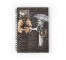 Anatomy of Sacrifice Spiral Notebook