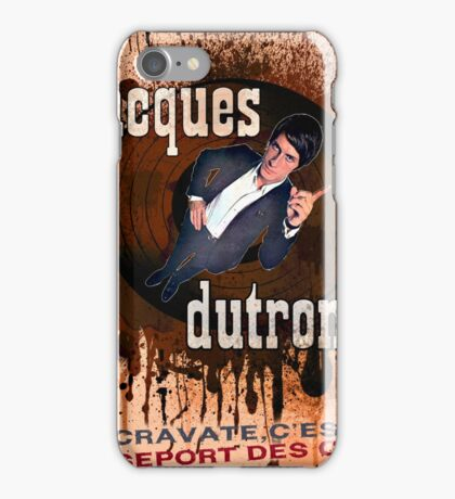 Jacques Dutronc iPhone Case/Skin