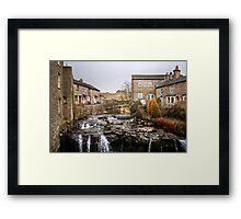 The River Ure at Hawes Framed Print