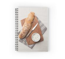 Baguette bread Spiral Notebook