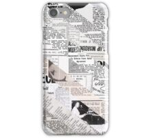 Read All About It iPhone Case/Skin