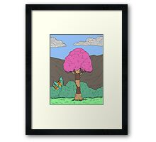 Eight Realms Background #2... Framed Print