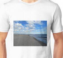 Looking Down The Beach Unisex T-Shirt