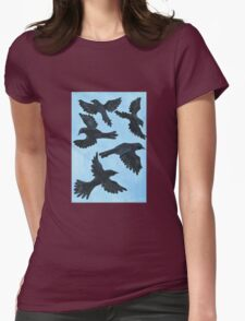 5 Ravens Womens Fitted T-Shirt