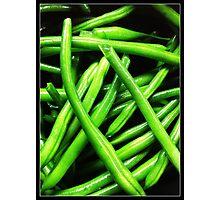 Bright Beans Photographic Print