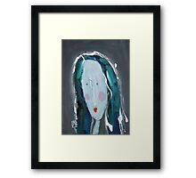C - from Alphabet Gal collection Framed Print