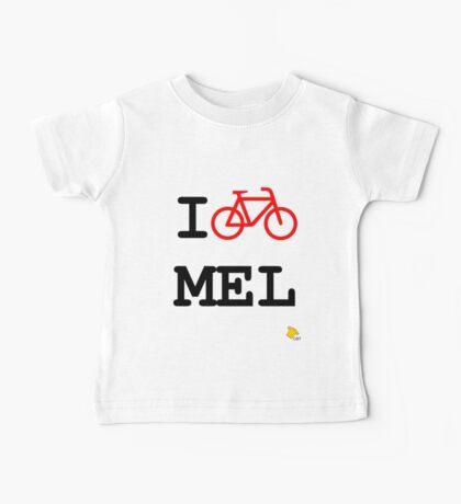 I Bike Melbourne Baby Tee