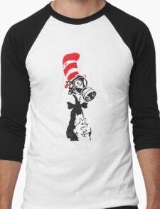 Nuke-A-Seuss basic Street Art Stencil Men's Baseball ¾ T-Shirt