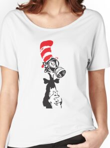 Nuke-A-Seuss basic Street Art Stencil Women's Relaxed Fit T-Shirt